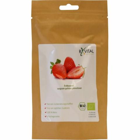 Bio-Erdbeere gefriergetrocknet 12g (1 Package)